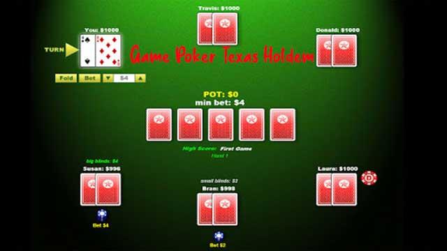 Game Poker Texas Holdem